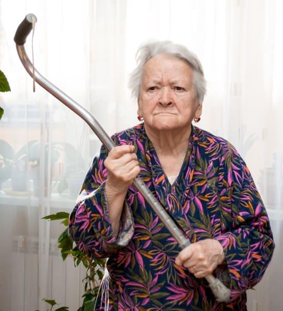 Деменция – проявления агрессии