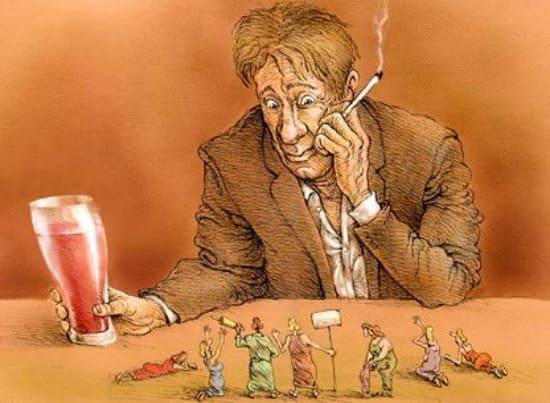 Алкогольный психоз: симптомы и признаки