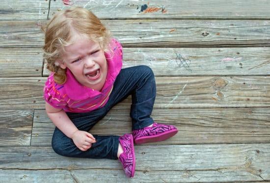 Нервный срыв у ребенка в детском саду