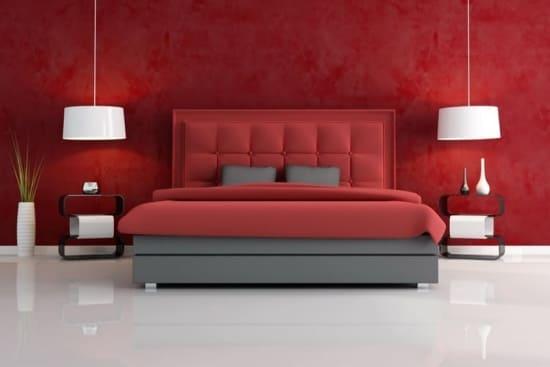 Как влияет красный цвет в интерьере