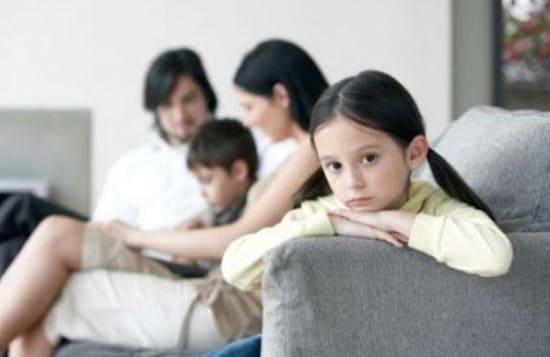 Недостаток внимания в детстве