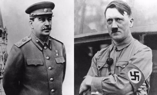 Гитлер и Сталин — известные мизантропы