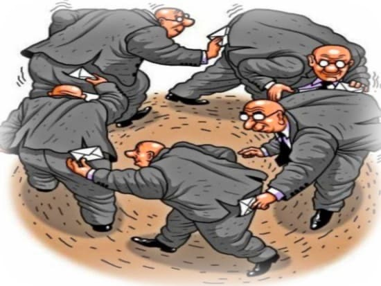 Коррупция, как фактор деградации