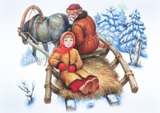Настенька из сказки «Морозко»