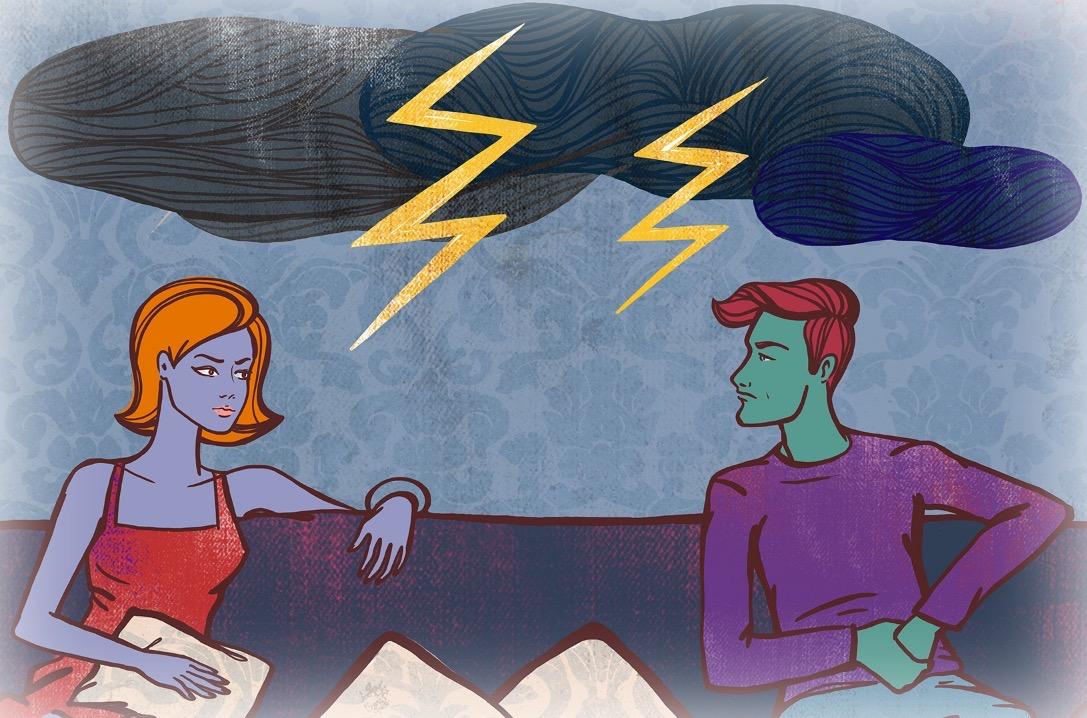 Токсичные отношения с мужем