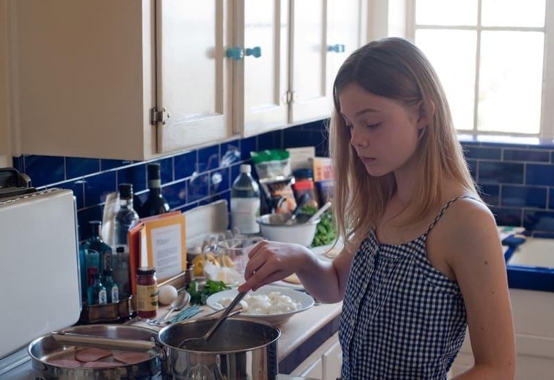Готовка на кухне