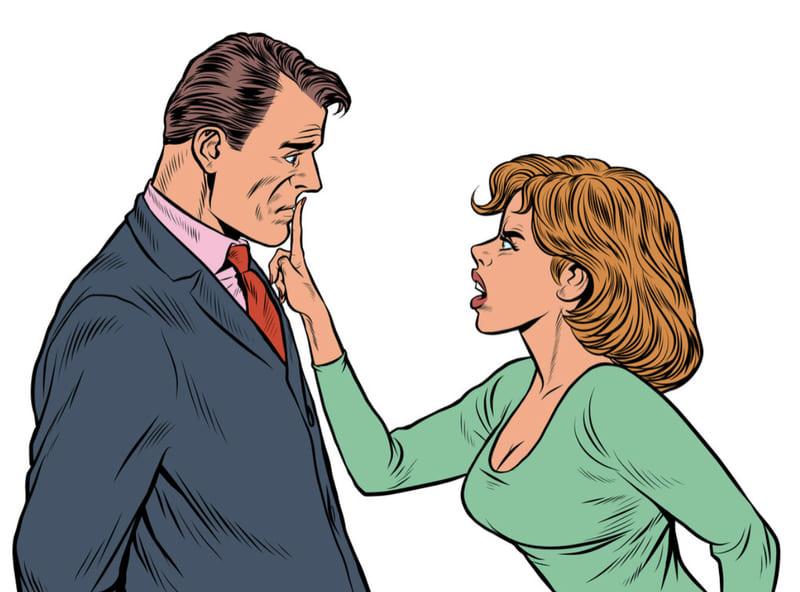 Диалог с мужем