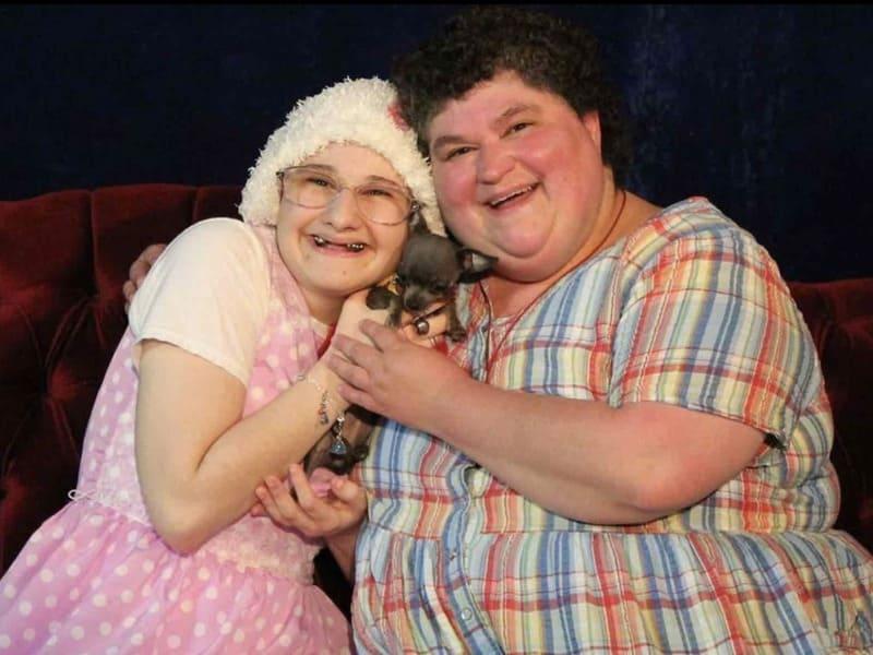 Джипси Роуз с матерью