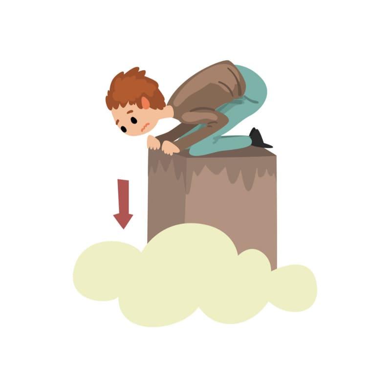 Акрофобия – это боязнь высоты