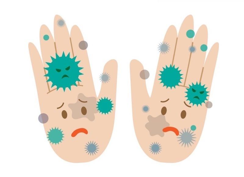 Фобия грязных рук