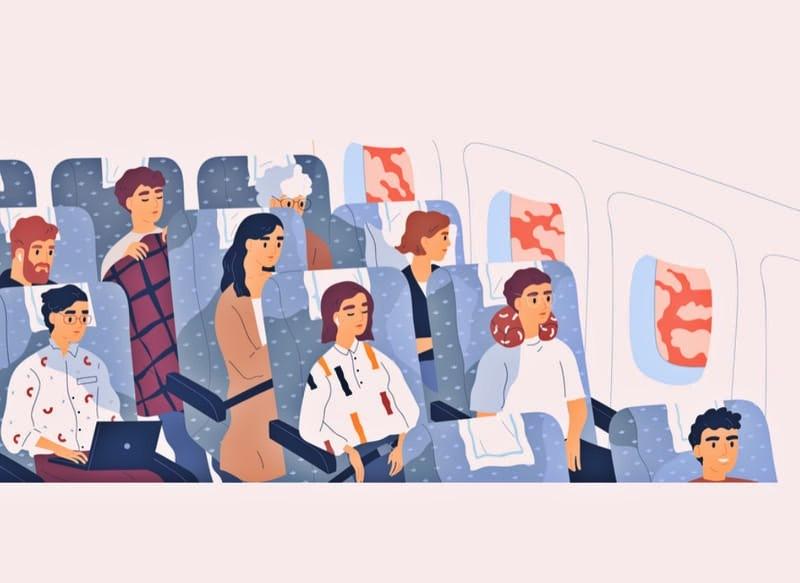 Комфортные места в самолете