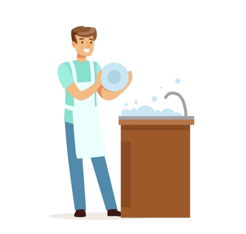 Мужские обязанности по дому