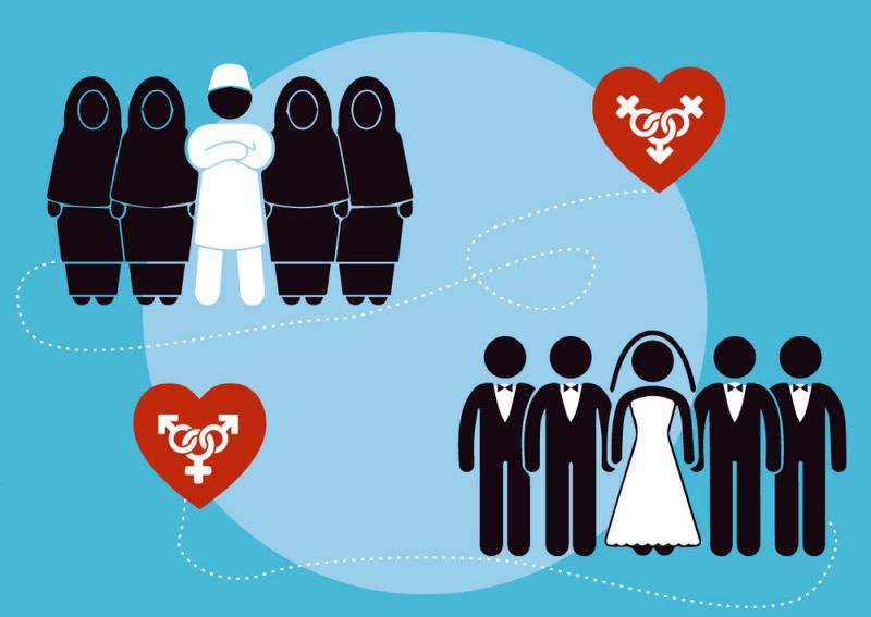В каких странах разрешена полигамия?