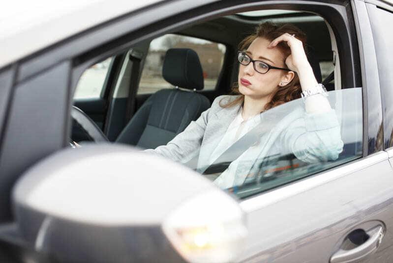 Автомобильная пробка (Закон Мерфи)