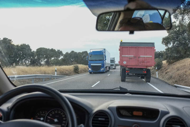 Закон Мерфи на дороге
