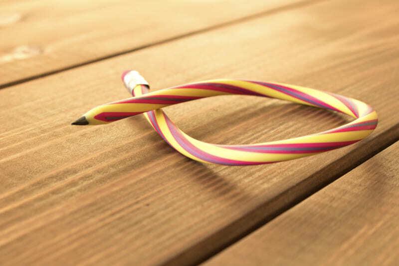 Изогнутый карандаш