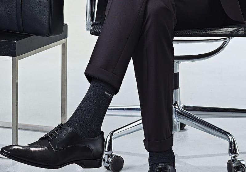 Правильная длина носков