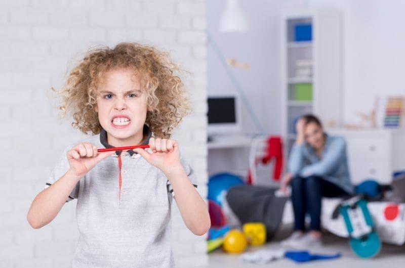 Состояние аффекта у ребенка