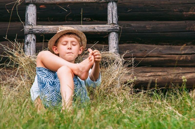 Ленивый мальчик